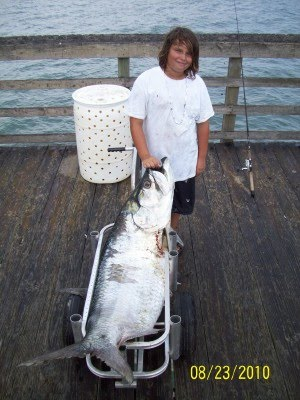 New record surf city pier for Surf city pier fishing report facebook