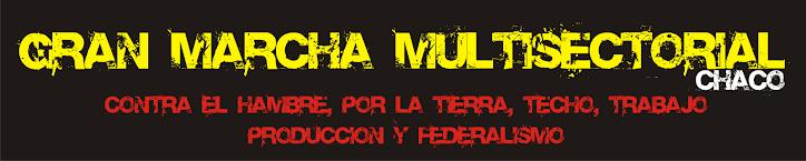 Gran Marcha Multisectorial Contra el hambre