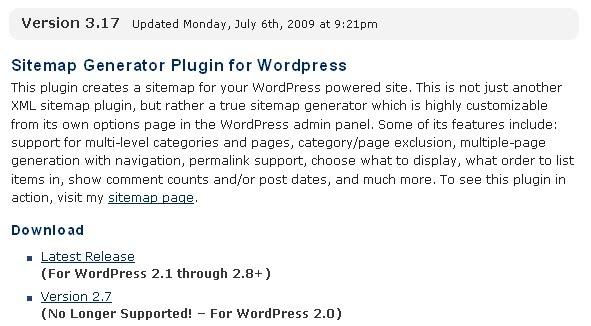 image sitemap plugin. Sitemap Generator Plugin For WordPress