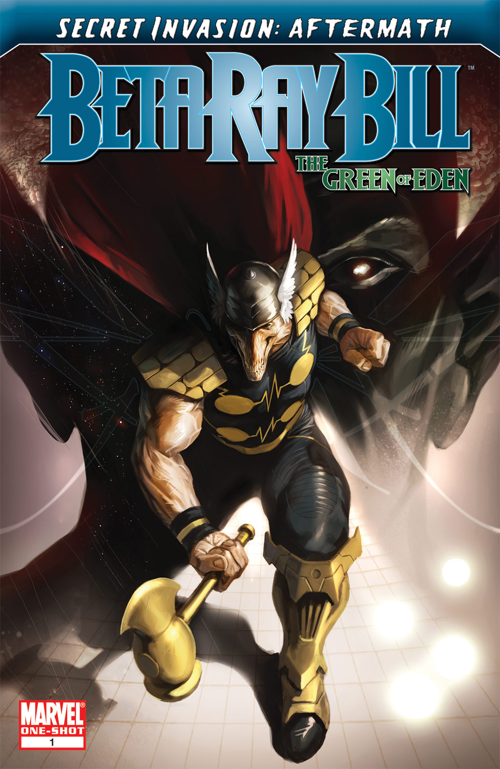 Read online Secret Invasion Aftermath: Beta Ray Bill - The Green of Eden comic -  Issue # Full - 1