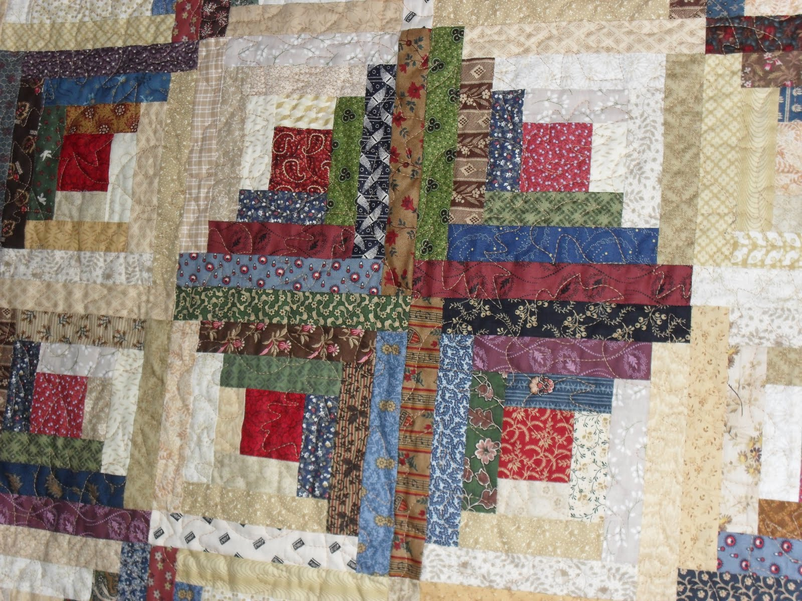 CowgirlQuilter...The Quilted Mule: Civil War Log Cabin Quilt : civil war quilts for sale - Adamdwight.com