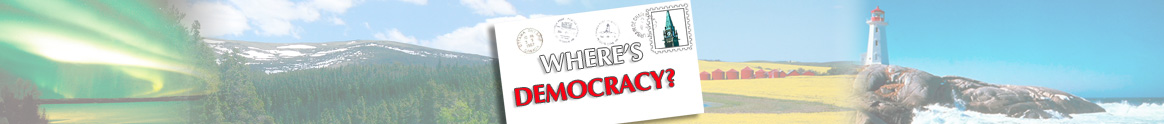 Where's Democracy?
