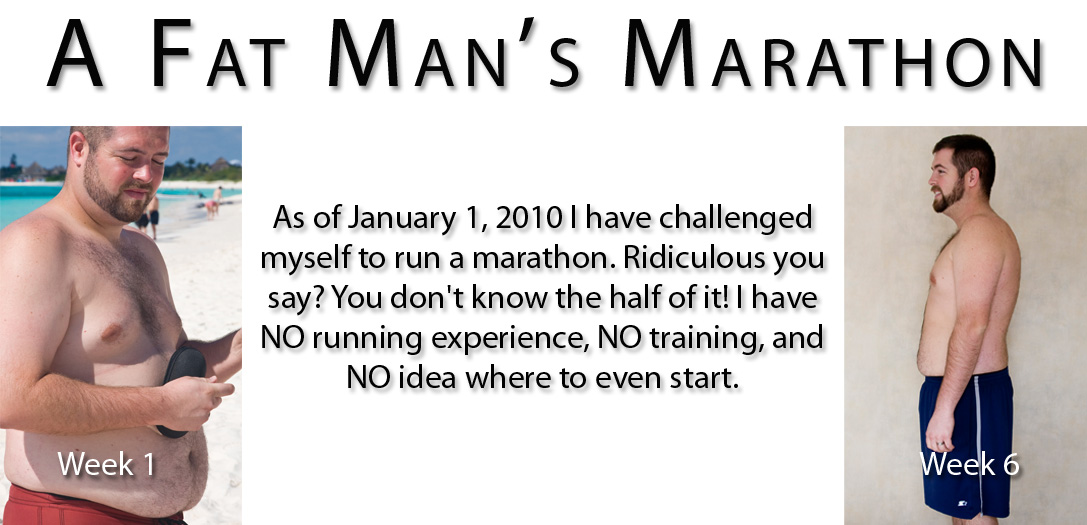A Fat Man's Marathon