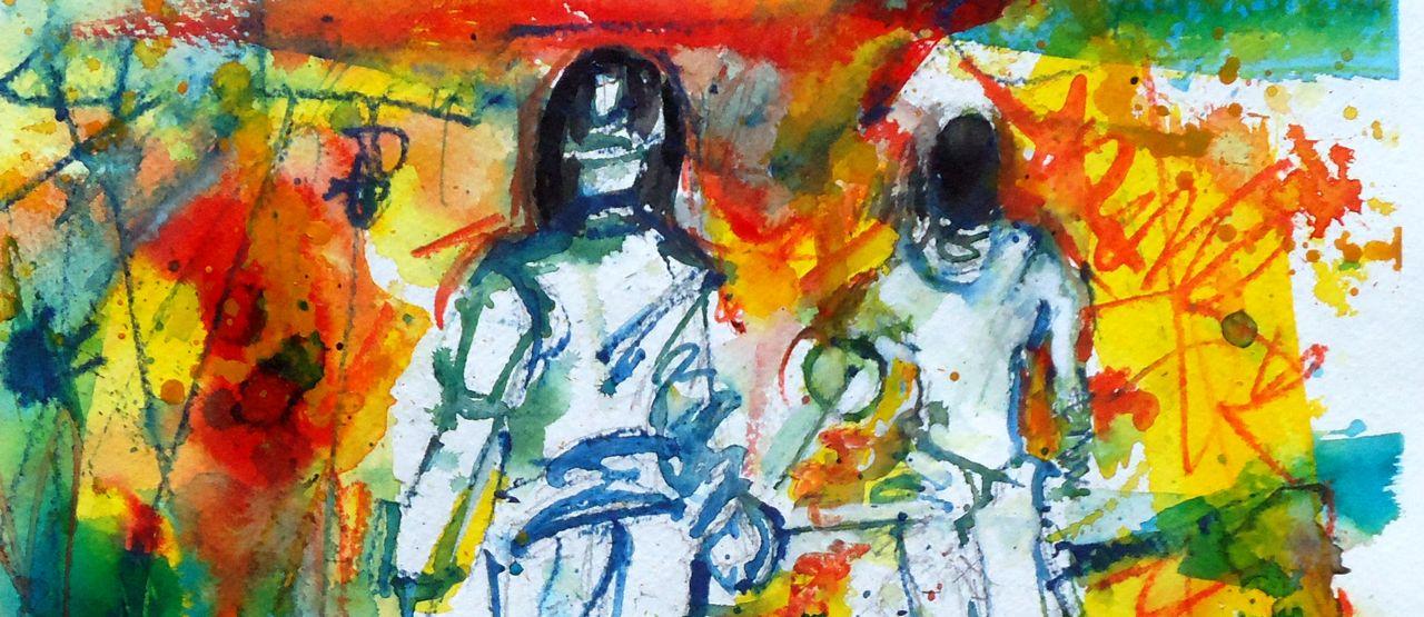 Sport-Fencing Paintings