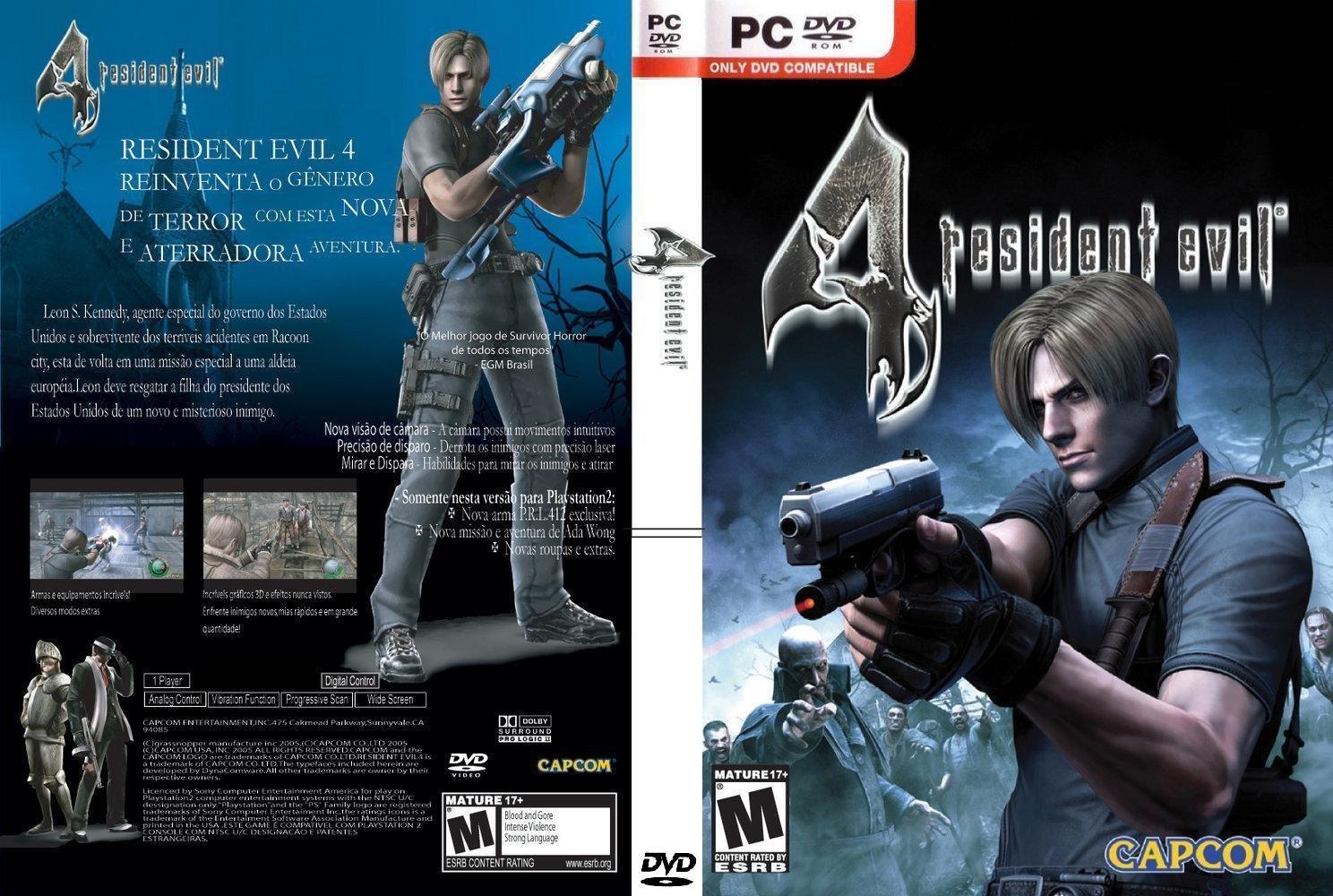 [MF] Resident Evil 4 + Chơi Bằng Chuột [Game Phiêu lưu Kinh dị]