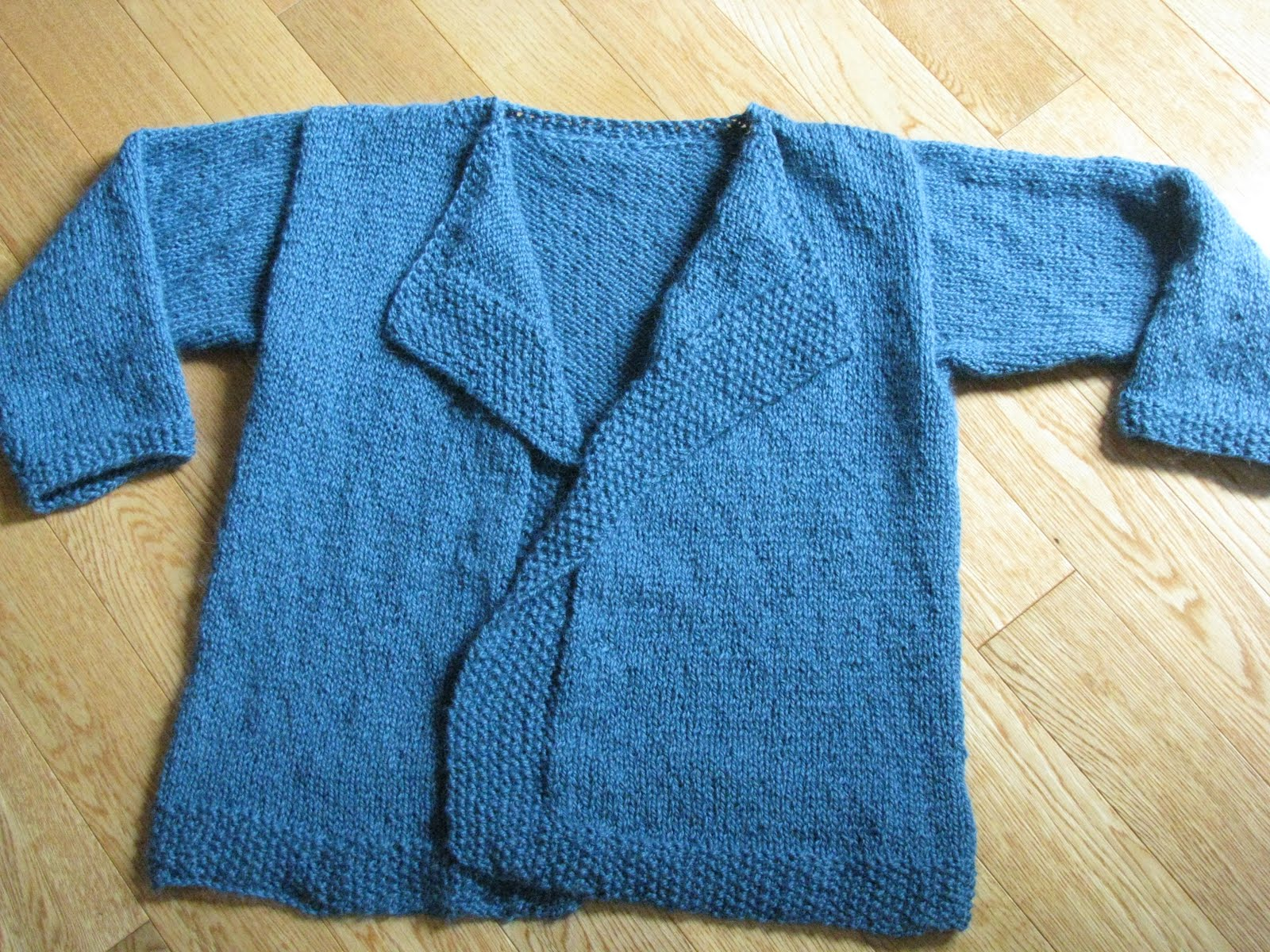 Chris Knits in Niagara: Alpaca Silk Easy Cardi