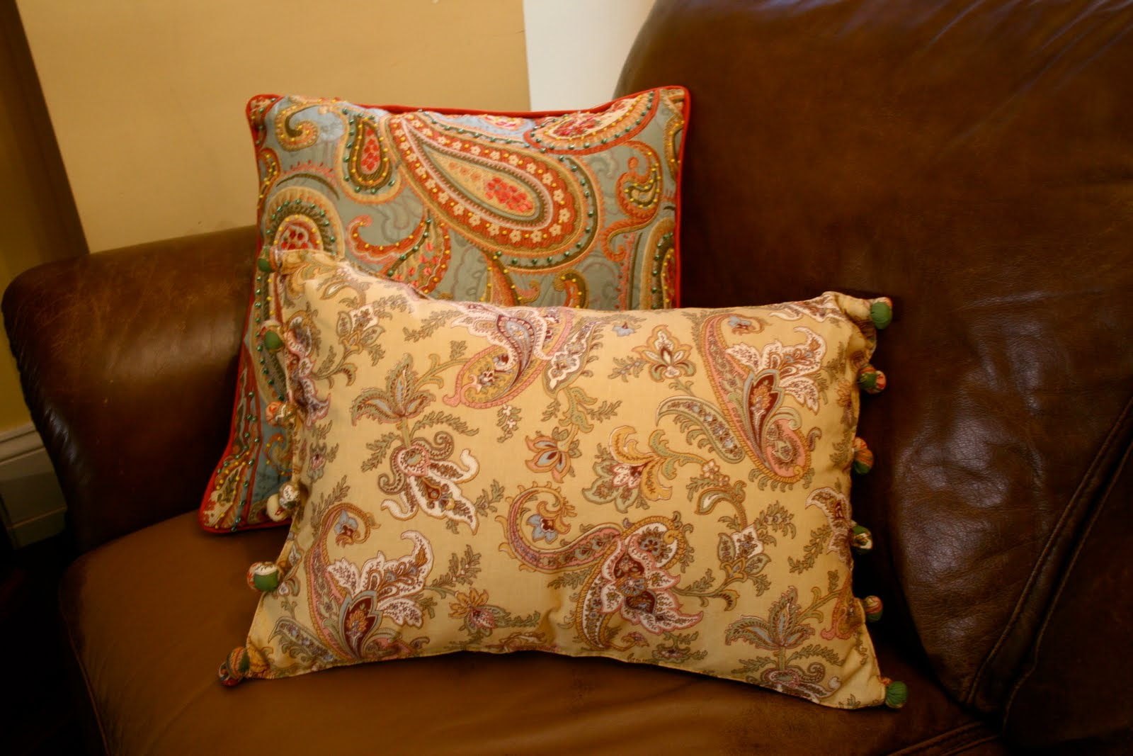 Pillows Out Of Placemats Home Stories A To Z