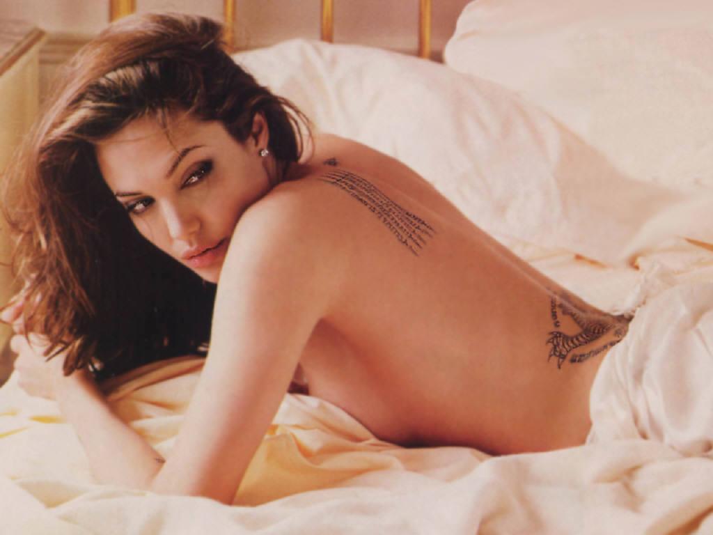 Can Angelina jolie nude nipples