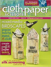 Cloth PAper Scissors cover March/April 2010