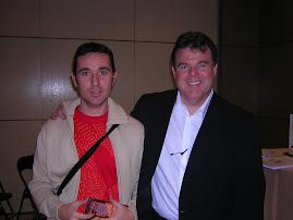 Con John Carney-Noviembre 2004