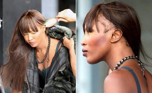 Naomi Campbell Without Makeup