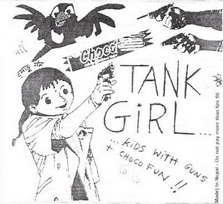 Tank Girl - Kids With Gun + Choco Fun (2005)