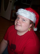 Melanie is Santa's little helper