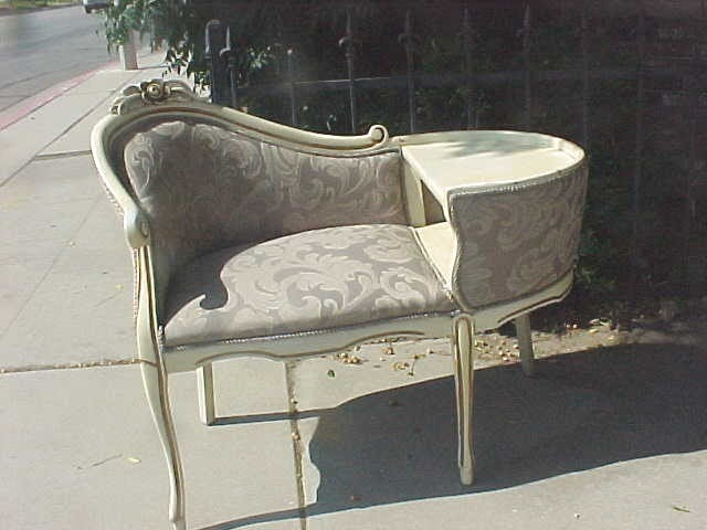 SUPER VALUE THRIFT SHOP ANTIQUE TELEPHONE CHAIR TABLE BENCH
