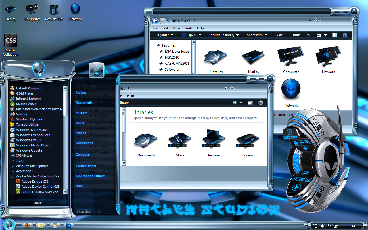 Free Alienware Themes For Windows 7