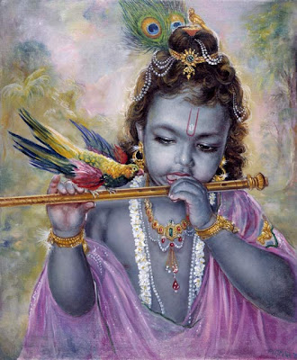 Krishna Returns to Mathura