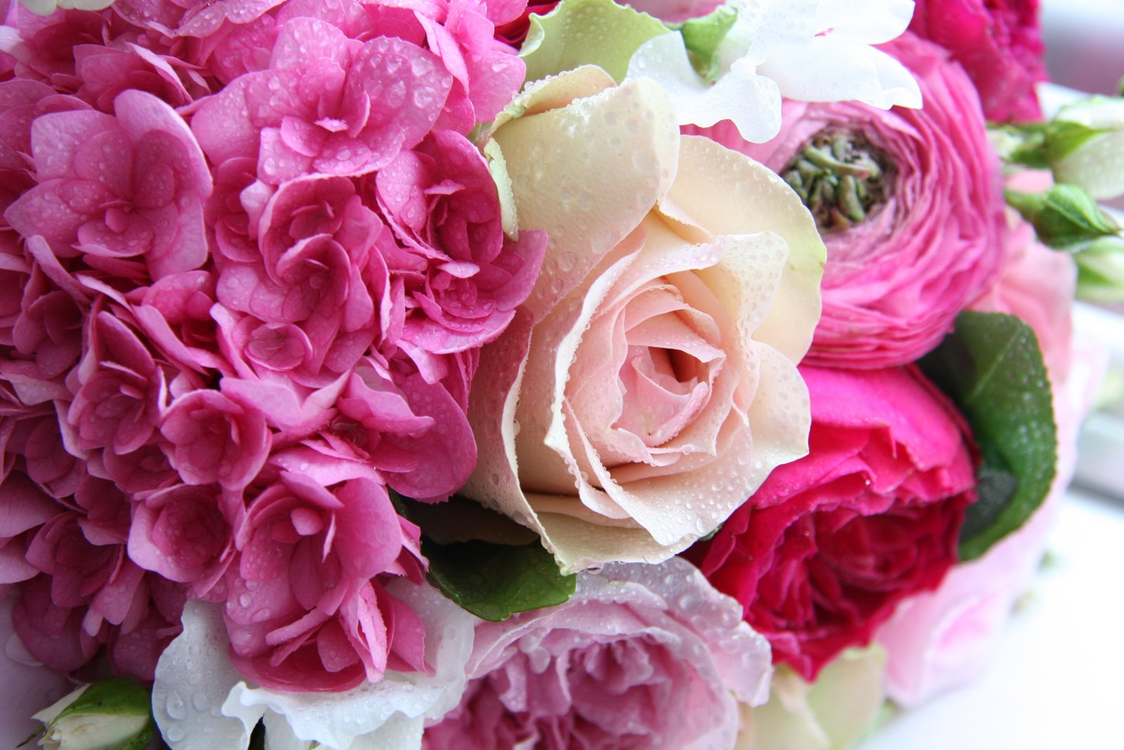 The Flower Magician: Shades of Pink Wedding Bouquet