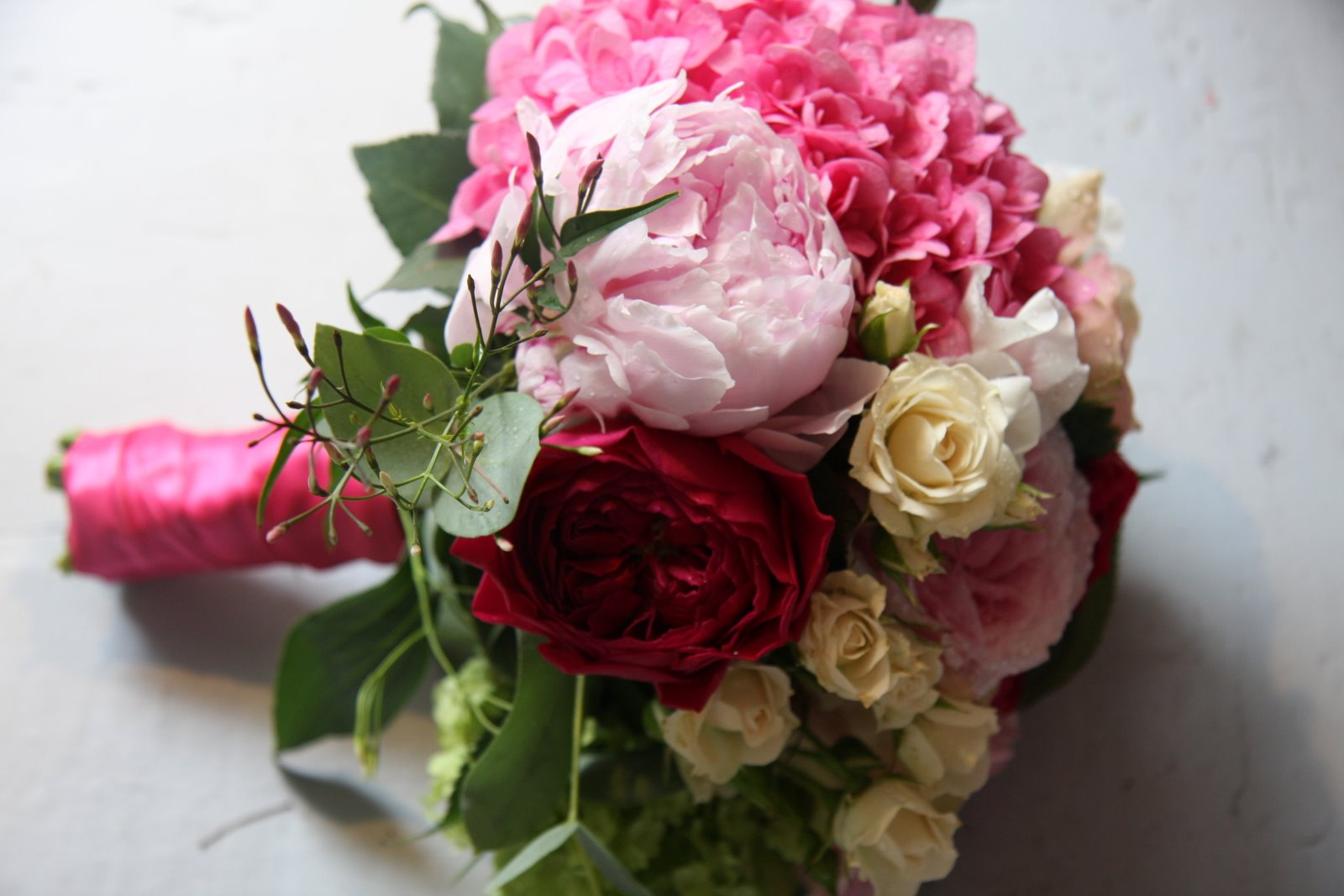 The Flower Magician Shades Of Pink Wedding Bouquet