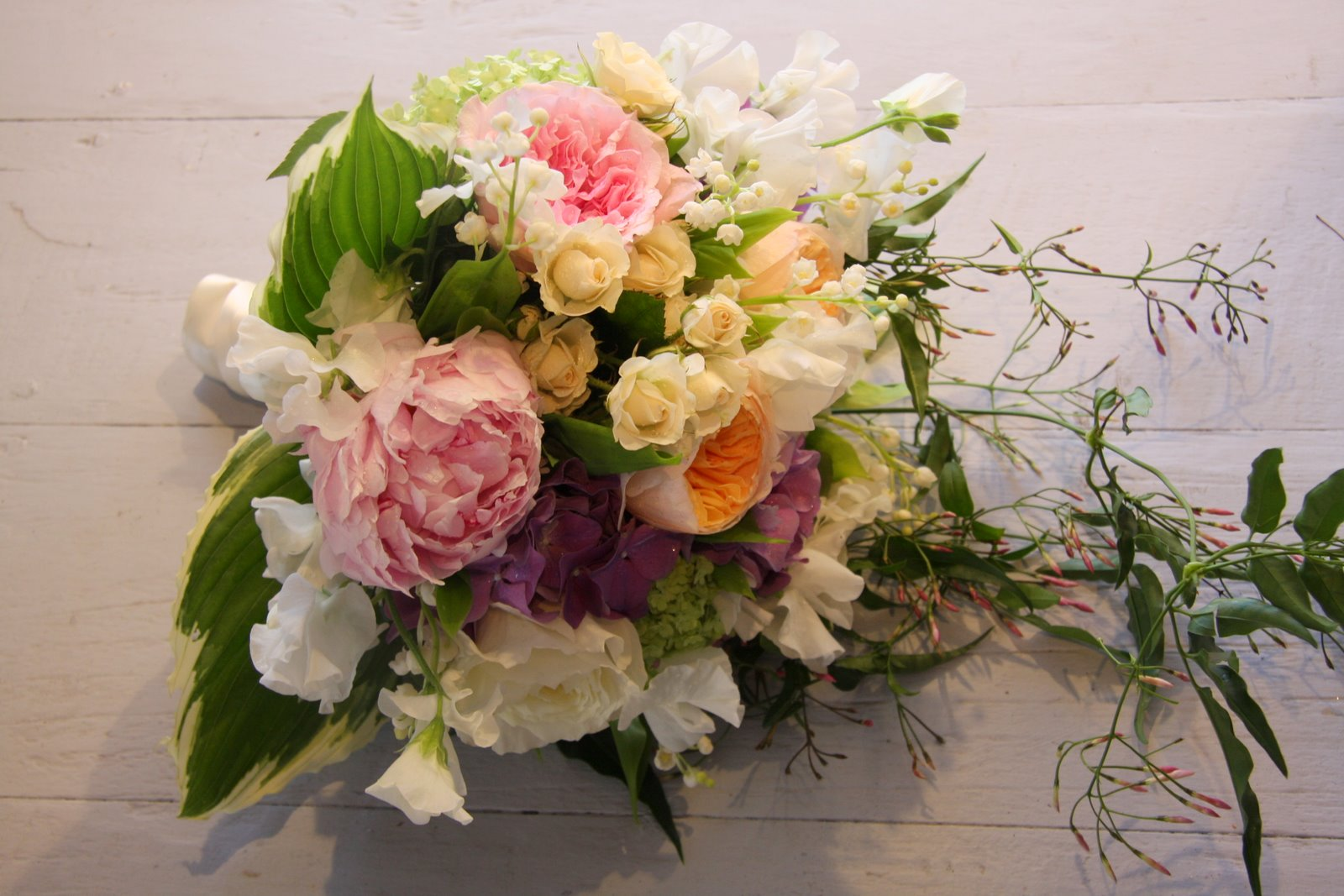 The Flower Magician English Country Garden Wedding Bouquet