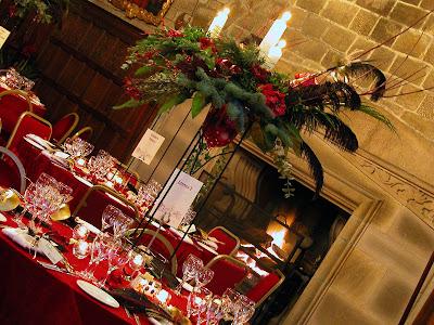 Hoghton Tower Winter Wedding