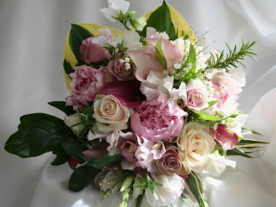 lilies wedding bouquet. In this wedding bouquet I#39;ve