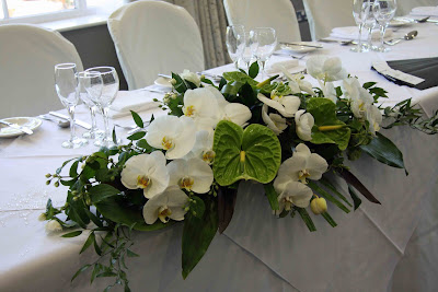 Flower Centerpieces  Wedding Tables on Me  Head Table Floral Arrangements   Page 2   Project Wedding Forums