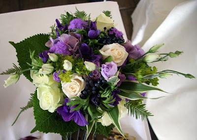 Cheap Bouquets on Cadbury S Purple Wedding Bouquet