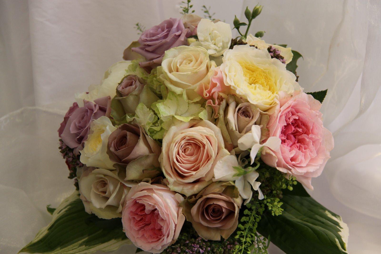 Vintage Floral Wedding Bouquets : The flower magician vintage rose wedding bouquet
