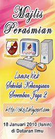 MAJLIS PERASMIAN LAMAN WEB SKSJ2