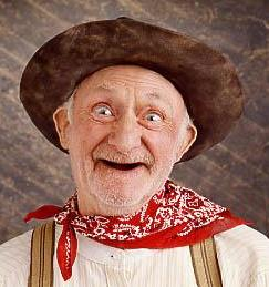 pic of old person with no teeth