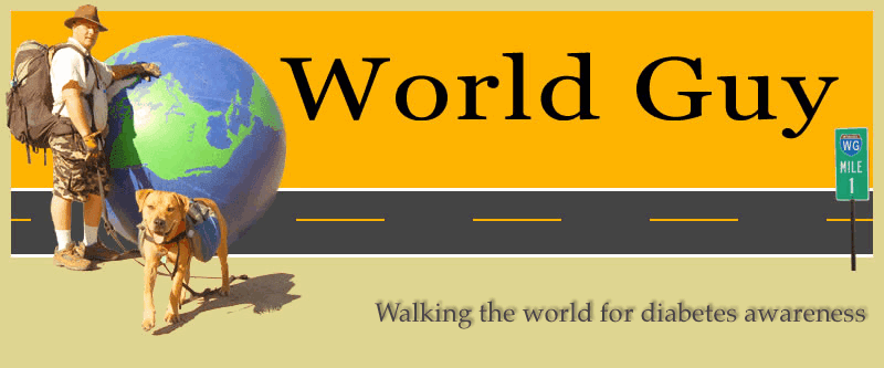 WorldGuy's Walk for Diabetes Awareness -