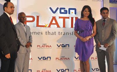 Sameera Reddy inaugurates VGN Developers Pvt. Ltd project Platina