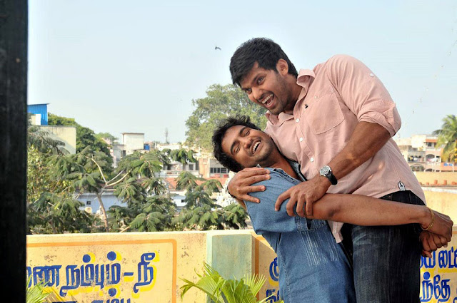 BOSS ENGIRA BASKARAN Arya Santhanam Stills