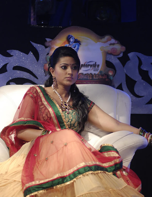 Sneha as guest for Vijay TV's 'Azhagiya Thamizh Magan' Still-4