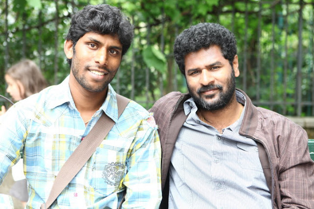 Ich Movie On Location Crew Stills-Prabhudeva