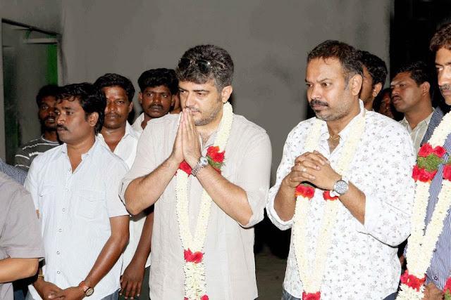 Ajiths Mangaatha Movie Launch Stills