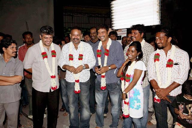 Ajiths Mangaatha Movie Launch Still 2