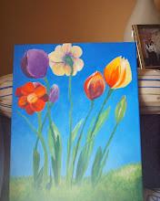 Algo parecido a tulipanes