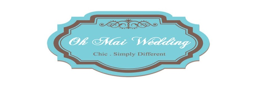 Oh Mai Wedding - Doorgift Stickers Bunting Button Badge
