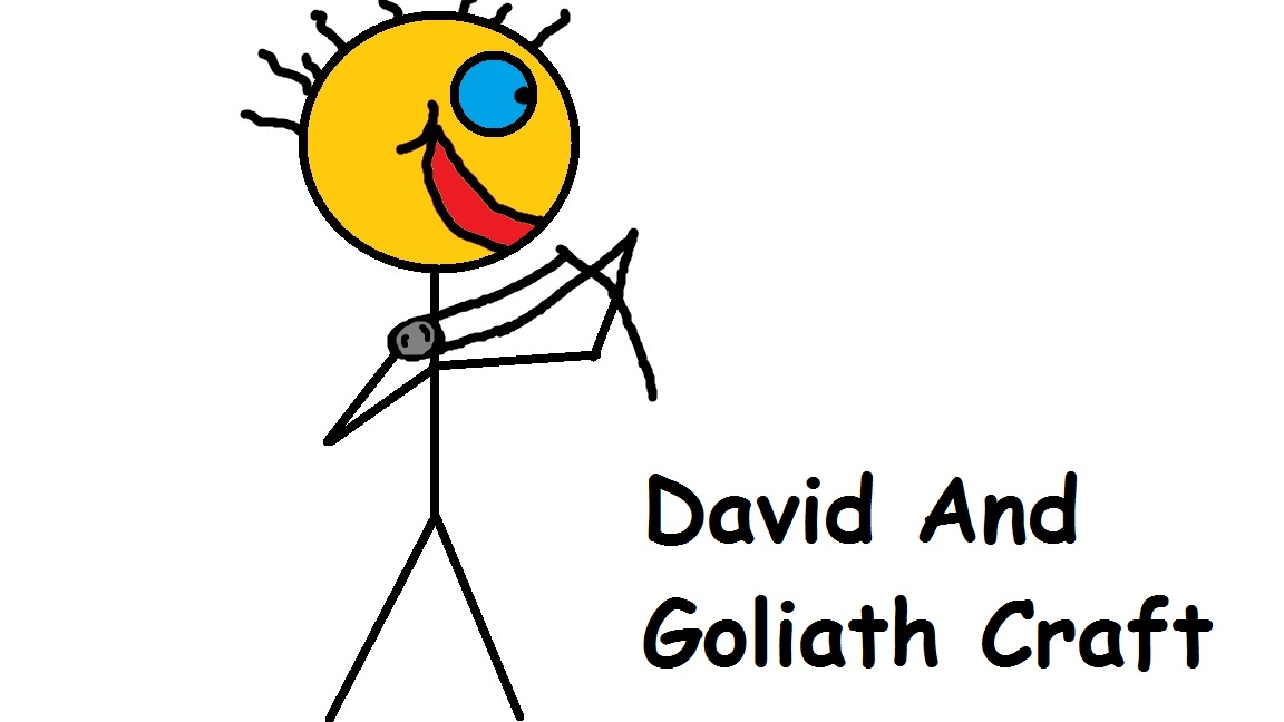 Church house collection blog david and goliath crafts for David and goliath craft