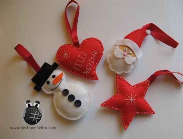 Figuras de navidad en fieltro imagui - Figuras fieltro navidad ...