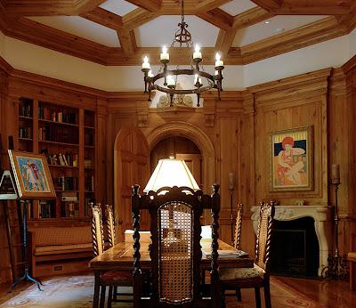 Boiserie c boiserie il lusso dell 39 aspetto materico for Case in stile castello