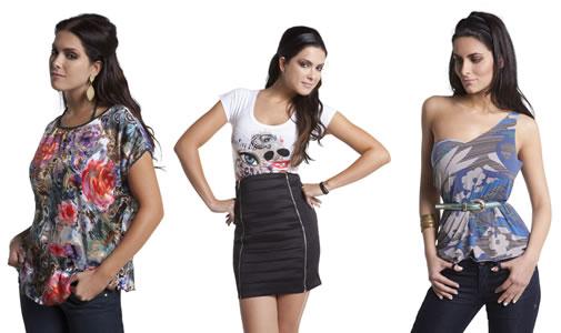 blusas femininas 2011
