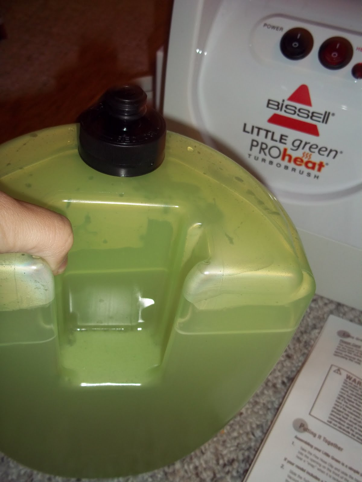 Bissell Little Green Proheat Carpet Cleaner Review