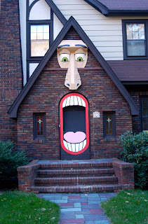 anthropomorphic house