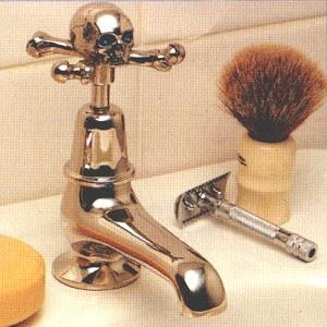 Skull Bathroom Sink : Haunt Style: Gothic bathroom fixtures