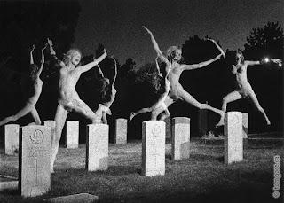 grave yard nude photos