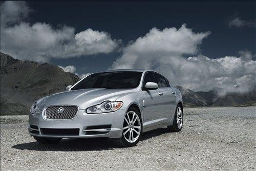 Silver Jaguar Sport Cars