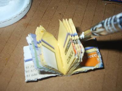Las miniaturas de nualamary tutorial como hacer un libro - Como hacer un libro antiguo ...