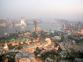مشهد لمدينة القاهرة